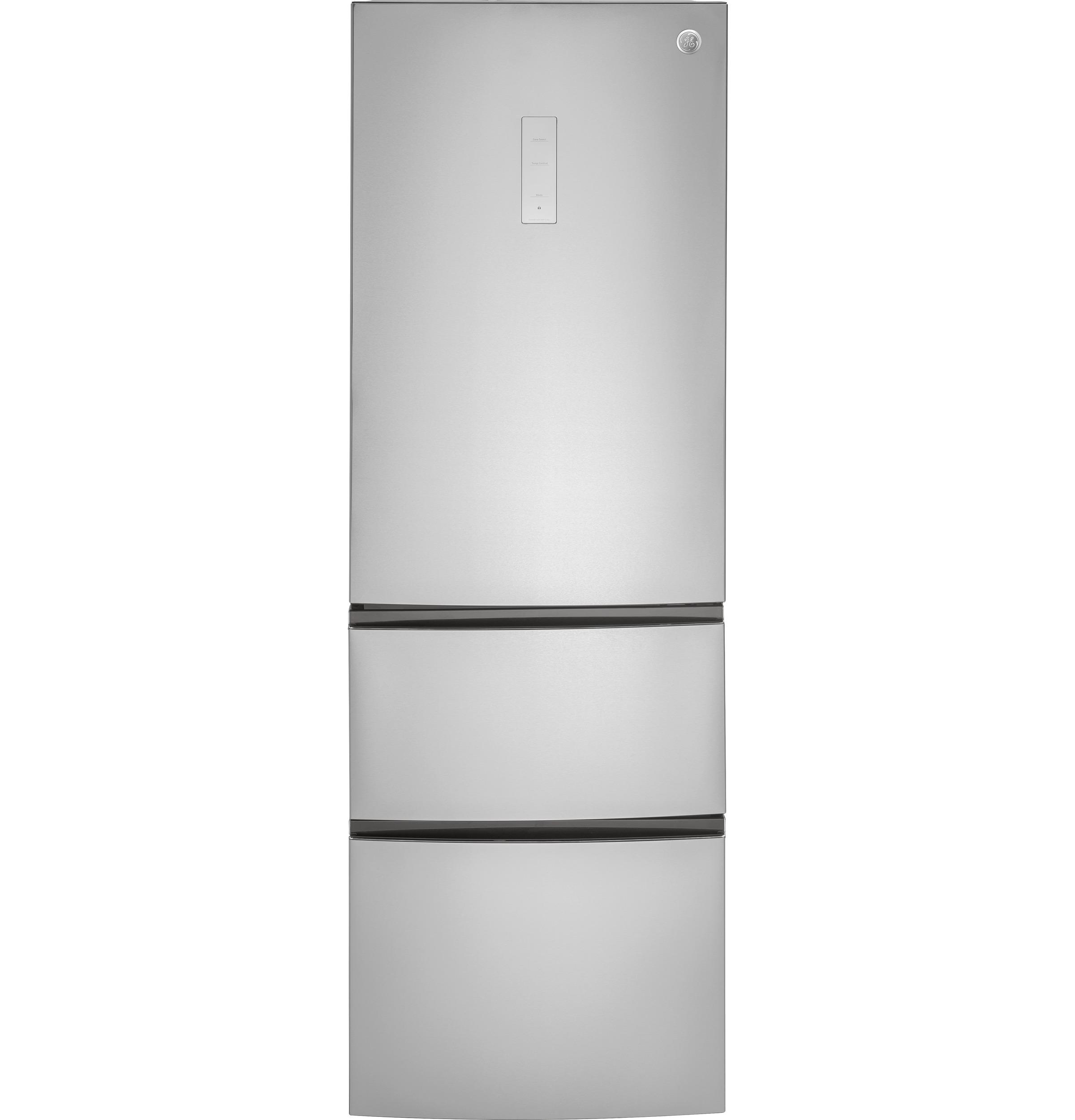 GE® GLE12HSLSS 11.9 Cu. Ft. Bottom Freezer Counter Depth Refrigerator