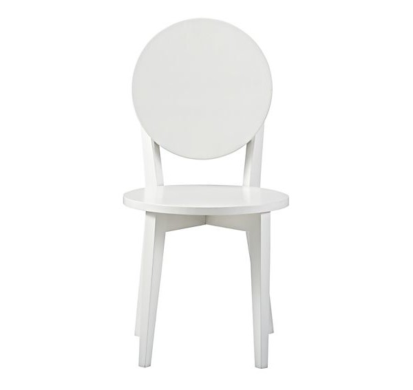Strange Crate Barrel 113235 White Double Dot Kids Play Chairs Gmtry Best Dining Table And Chair Ideas Images Gmtryco