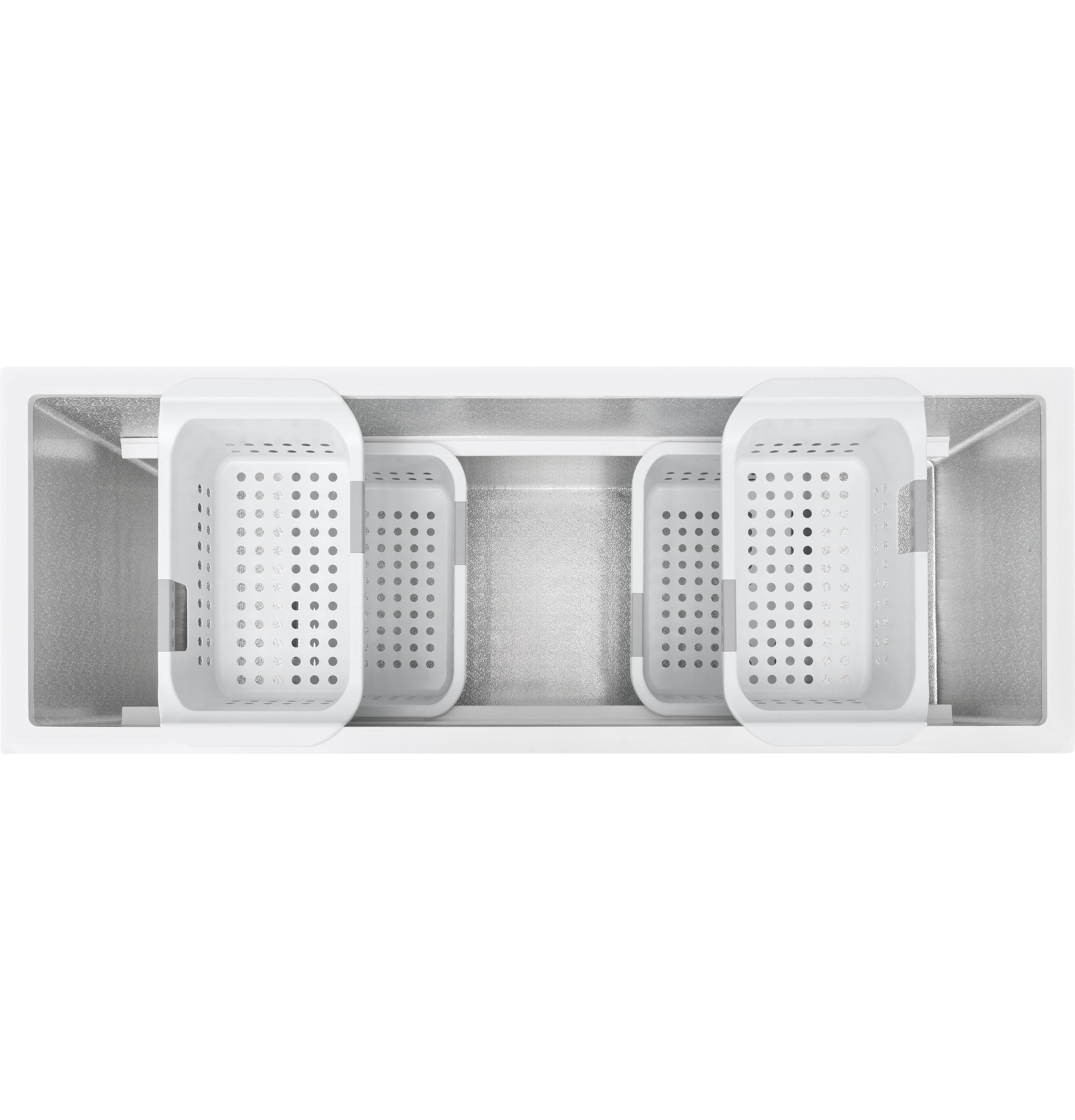 Ge U00ae Fcm16dlww 15 7 Cu  Ft  Manual Defrost Chest Freezer