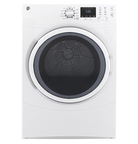 Ge 174 Gfd43gssmww 7 5 Cu Ft Capacity Front Load Gas Dryer